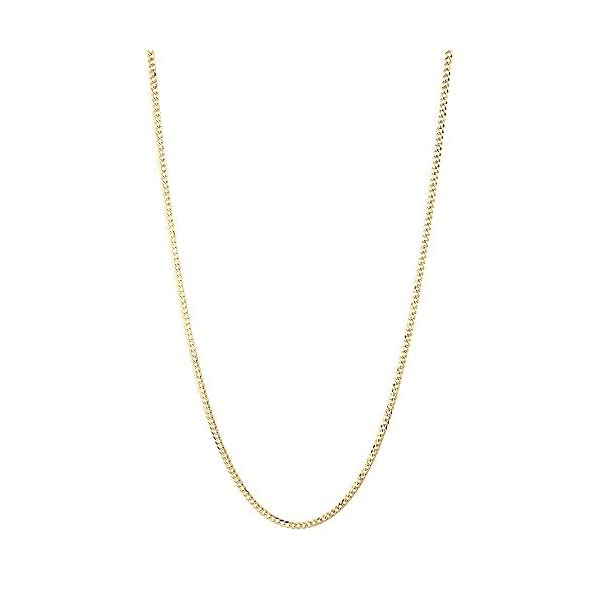 IcedTime-Solid-10K-Yellow-Gold-Italy-Cuban-Curb-Link-Chain-White-Diamond-Cut-Necklace-35mm-Wide-Lobster-Clasp