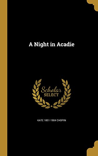 book cover of A Night in Acadie