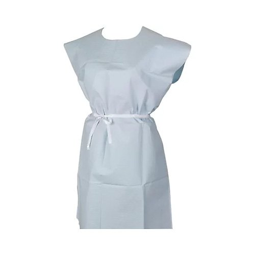 Riserva Blue XL Patient Gown, 36'' x 44'', Box of 25