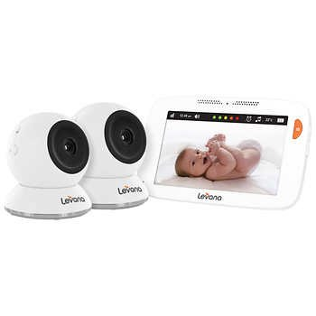 832ce9caa4a Image Unavailable. Image not available for. Color  Shiloh 5 quot   Touchscreen - 2 Camera Baby Monitor