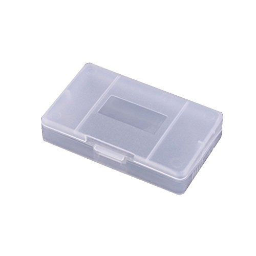 Timorn New Clear White Game Card CASE Box for Nintendo Game Boy Suitable for GBA, GBA SP, GBM(1 Piece)