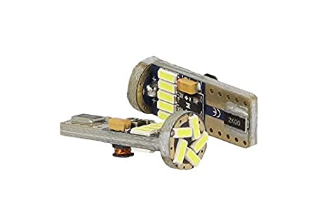 bombilla LED Canbus T10 W5 W 15 SMD 4014 blanco no Error MHz luces 12 V sin polarita: Amazon.es: Coche y moto