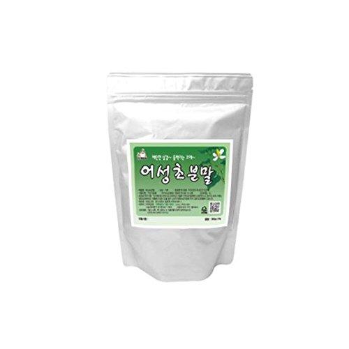 Houttuynia Cordata Powder 100% Natural Medicinal Herbs Fish Mint Dokudami Yuxingcao 어성초 300g(10.5oz) ()