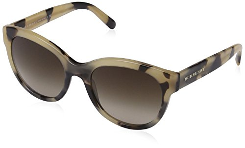 Burberry 4187 350113 Light Horn 4187 Cats Eyes Sunglasses Lens Category - Sunglasses Burberry Price