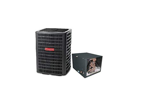 Goodman 5 Ton 16 Seer Air Conditioning System with 4-5 Ton Horizontal Evaporator Coil GSX160601 - CHPF4860D6