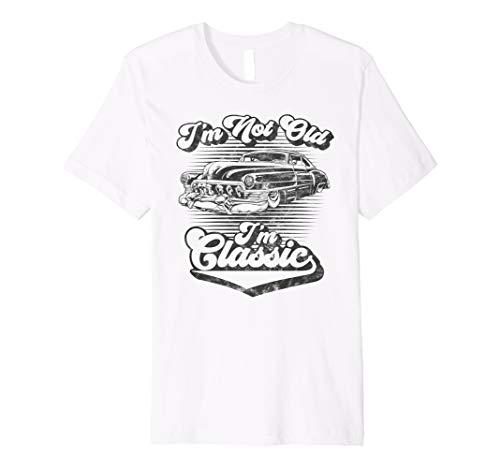 (I'm Not Old I'm Classic Retro Hot Rod Distressed Design Premium T-Shirt)