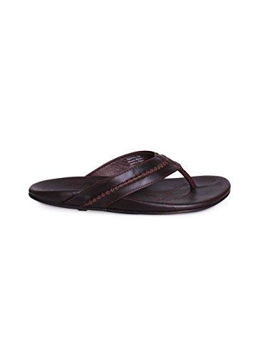 Olukai Menns Mea Ola Java Mørke Sandaler Størrelse 13