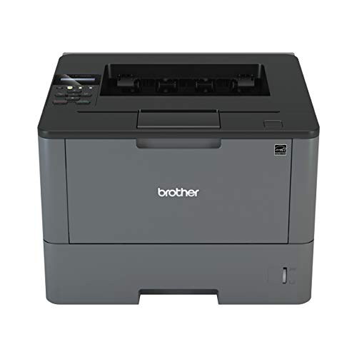 (Brother Monochrome Laser Printer, HL-L5100DN, Duplex Two-Sided Printing, Ethernet Network Interface, Mobile Printing, Amazon Dash Replenishment Enabled)