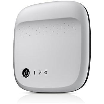 Seagate Wireless Mobile Portable Hard Drive Storage 500GB STDC500101 (White)