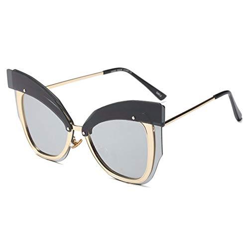 Xctyq Soleil Vintage En Eyewear De Femmes Métal Uv400 02 Pour Mirror Lunettes Cadre UqUErgw