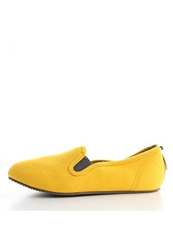 PROJECT W Dmarkevous Fucsia fucsia colore maggio giallo Scarpe vIvwTqFHE
