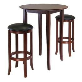 Winsome Fiona Round 3pc High/Pub Table Set - (Fiona High Table)