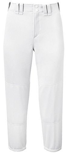 Mizuno seleccione Belted Low Rise Fastpitch Pant Blanco