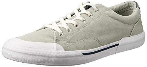 SPERRY Men's Striper II CVO Washed Sneaker, Grey, 11 ()