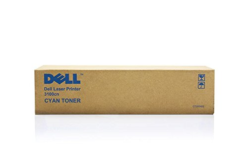 Dell 3100 cn -Original Dell 310-5731 / K4973 - Cyan Toner Cartridge -4000 pages