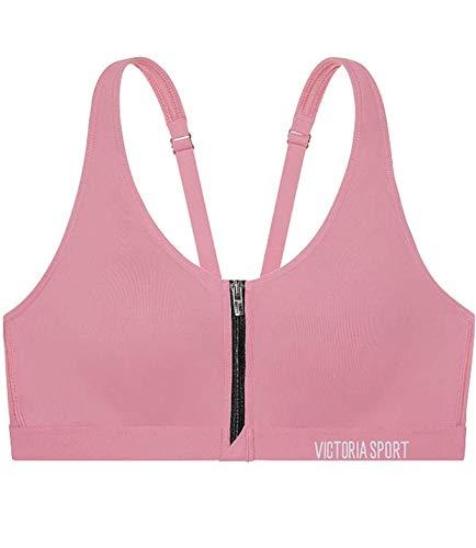 Victoria's Secret VSX Knockout Front-Close Sport Bra 38C Lilac Pink