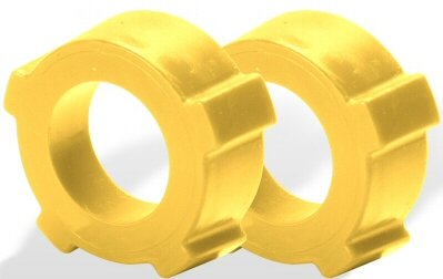 - Saco Usa Made Injection Molded Delrin Knobby 1-7/8 Inside Diameter Spring Plate Grommets