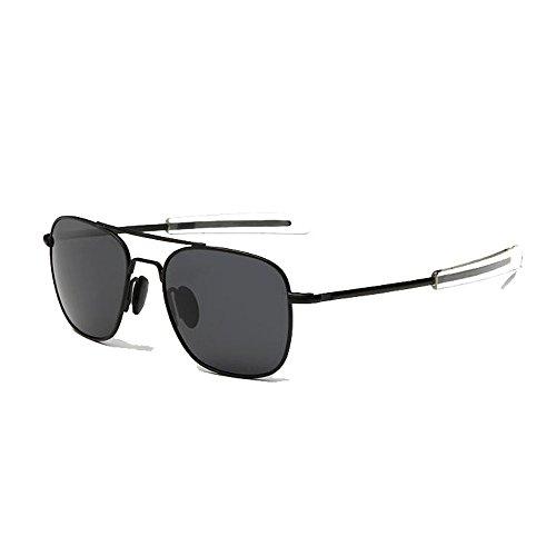 US Army Aviator Sunglasses Polarized Military Pilot Bayonet Temple Classic - Sunglasses Army U.s.