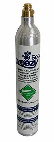 Novacqua - Bombola Co2 425G. Ricaricabile Per Sodastream / Wassermaxx / Soda Queen / Imetec