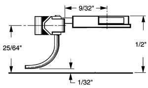 "HO Multi-Purpose Coupler, 9/32"" Overset (2pr) by Kadee Qualtiy Products, CO."
