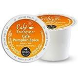 Cafe Escapes Pumpkin Spice K-Cups, 16 Count