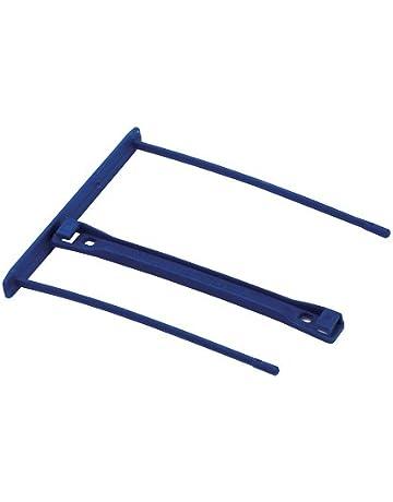 Bankers Box CRC 00898 - Fasteners de plástico Pro clip, 100 mm, azul