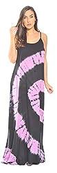 21614 Bp Xl Riviera Sun Summer Dresses Maxi Dress Sundresses For Women Xl Black Pink Black Pink X Large