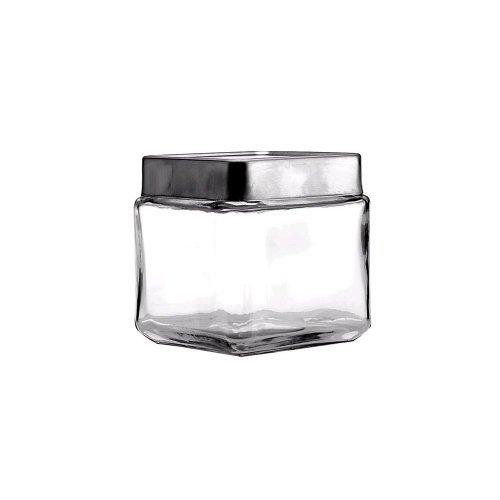 Anchor Hocking 85753 Stackable Square Jar