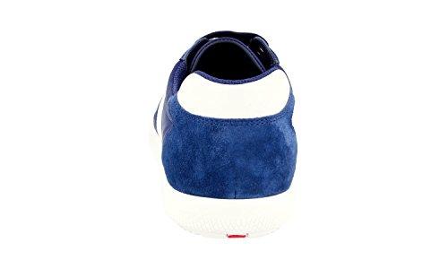 Prada Heren 4e2845 Oqt F0w99 Lederen Sneaker