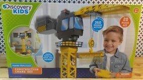 Discovery Kids - Jumbo Motorized Construction Crane (Crane Construction Set)