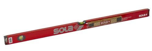 Sola BigX 3 100 cm Focus - Holz-Gliedermaßstab HF 2/10 - Zimmermannsbleistift rot lackiert