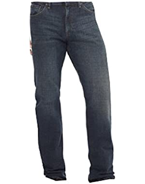 Tapered Fit Jeans, Blue Steel Wash, 38x34