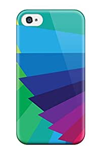 Perfect Fit RYHYyJH8877hGQYm Bright Colorful Staircase Case For Iphone - 4/4s