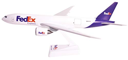 Space Plane Boeing (FedEx (05-Cur) Boeing 777-200F Miniature Model Airplane Plastic Snap-Fit 1:200 Scale - Part# ABO-7772LH-003)