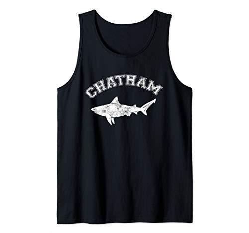 Chatham MA Great White Shark MA Massachusetts The Cape Tank Top