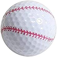 Nitro Novelty Golf Balls Baseball Display Tube (3 Pack)