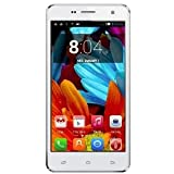 Spice Mi-514 5-inch Dual Sim 3G Android Phone (White)