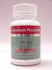 Karuna - Chromium Picolinate 500 mcg 60 vcaps