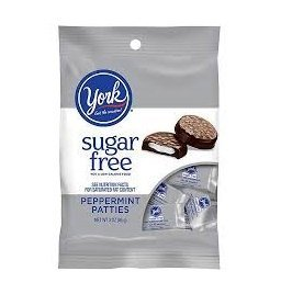 York Peppermint Patties, Sugar Free, 3-ounce Packages (Pack of 3)