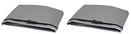 WJ Dennis & Company 21 Window Air Conditioner Cover, Fits 15,00 + BTU Models, 28-Inch W x 20-Inch H x 30-Inch Dia, Grey W. J. Dennis & Company