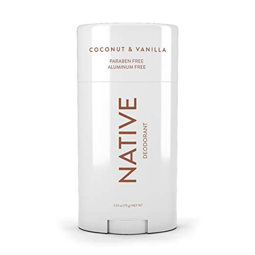 Native Deodorant - made without Aluminum & Parabens - Coconut & Vanilla