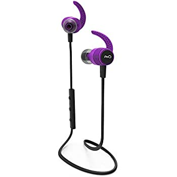 BlueAnt - Pump Mini 2 HD Wireless Sportbuds, Stable and Lightweight, Delivering Energized HD Audio to Inspire Every Workout (Purple)