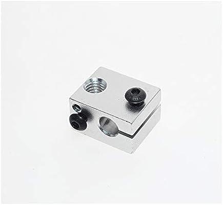 Bloque de Calor de Aluminio para Impresora 3D E3D V6 J-Head ...