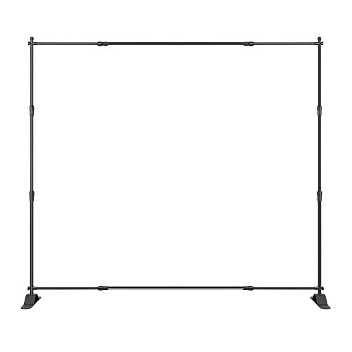 Step and Repeat 8 Feet8 Feet Advertising Display Banner Stand Adjustable Telescopic Trade Show Backdrop by AMPM24US-US (Image #4)