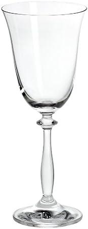 Bohemia Cristal 093/006/002 Angela - Copa de Vino (6 Unidades, 250 ml)