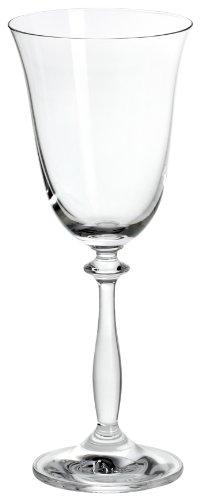 Bohemia Cristal 093 006 002 Weinkelche ca. 250 ml aus Kristallglas 6er Set