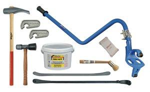"""Ken-tool KEN35444 Deluxe Blue Truck Tire Service Set (Deluxe Blue Cobraâ""""¢ Truck Tire Service - Breaking Hammer Bead"""