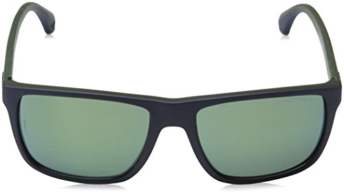 Top 56156r Sonnenbrille Armani Emporio On EA4033 Blue FUHUqan