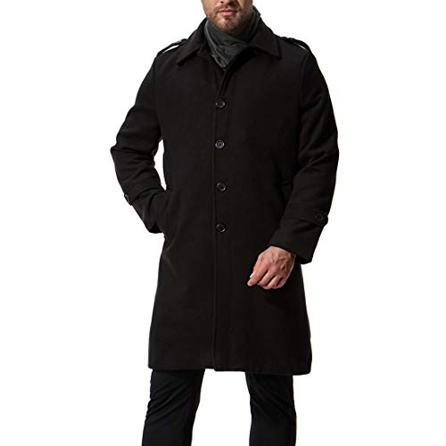 Capispalla Capispalla Capispalla Vento Coat Coat Coat da Pile Tops Black Giacca a Casual Giacca Autunno in Uomo Invernale cP7cHS