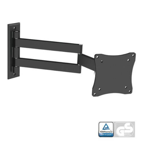- Black Full-Motion Tilt/Swivel Wall Mount Bracket for Philips 32PFL4609/F7 32